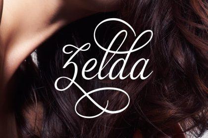 zelda script font deal pixelo