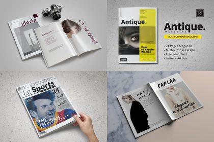 magazine templates