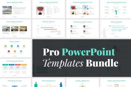 Modern powerpoint template pixelo pro powerpoint templates toneelgroepblik Image collections