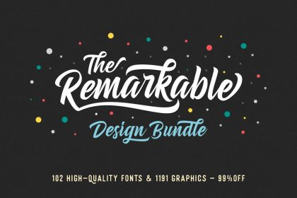 The Remarkable Design Bundle Pixelo