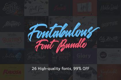 Fontabulous Font Bundle