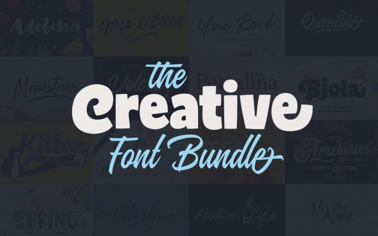 The Creative FontBundle at Pixelo