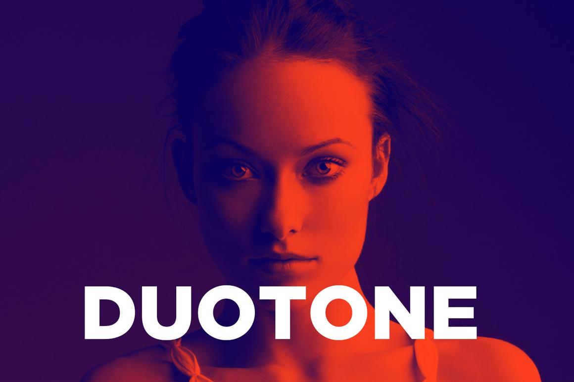free duotone photoshop actions