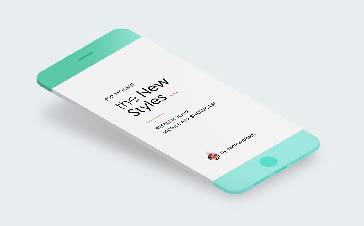 Free New Minimalistic Phone Mockups
