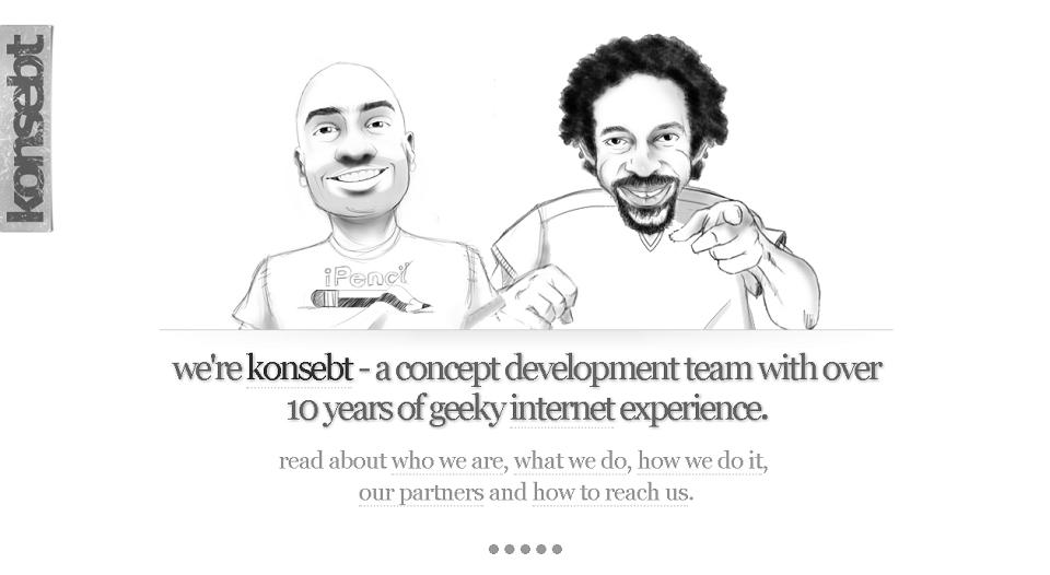 9 Web Design with Creative Illustrations