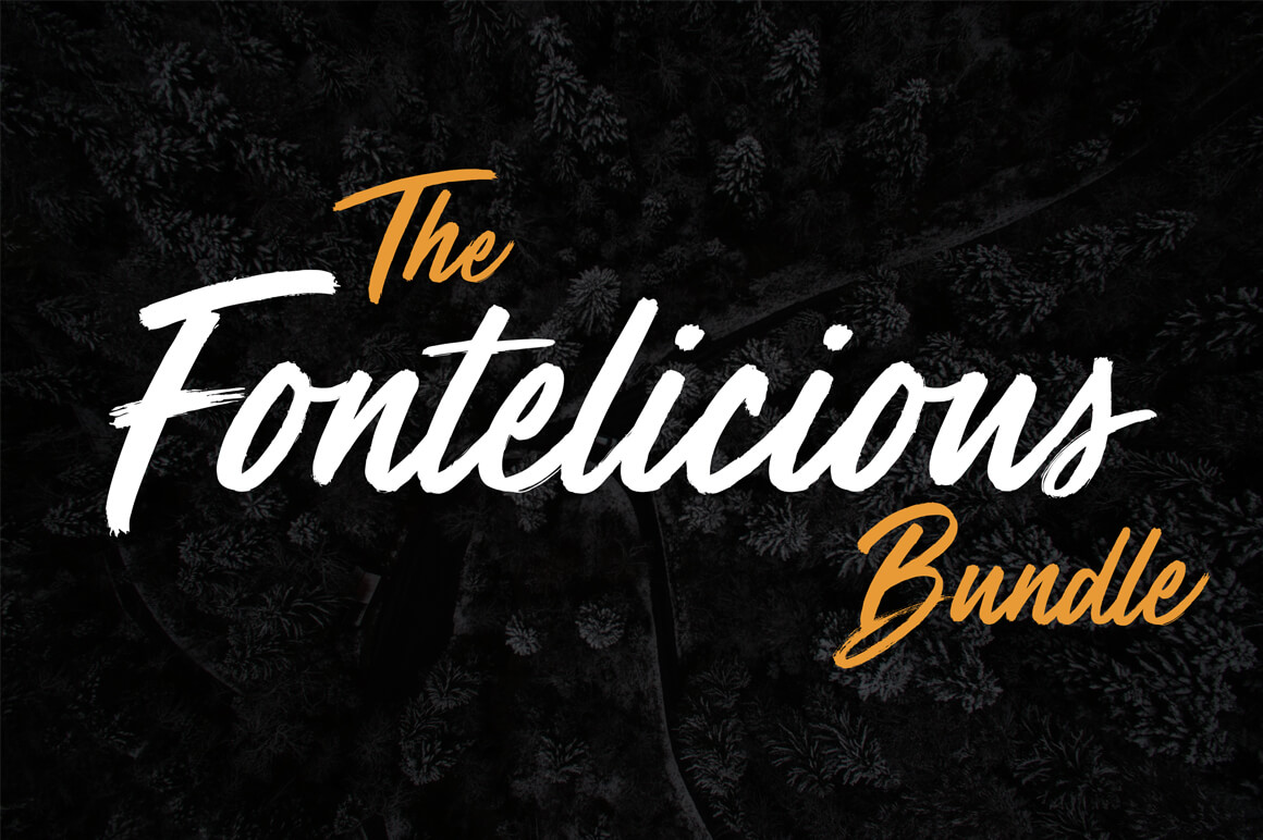 High quality fonts bundle