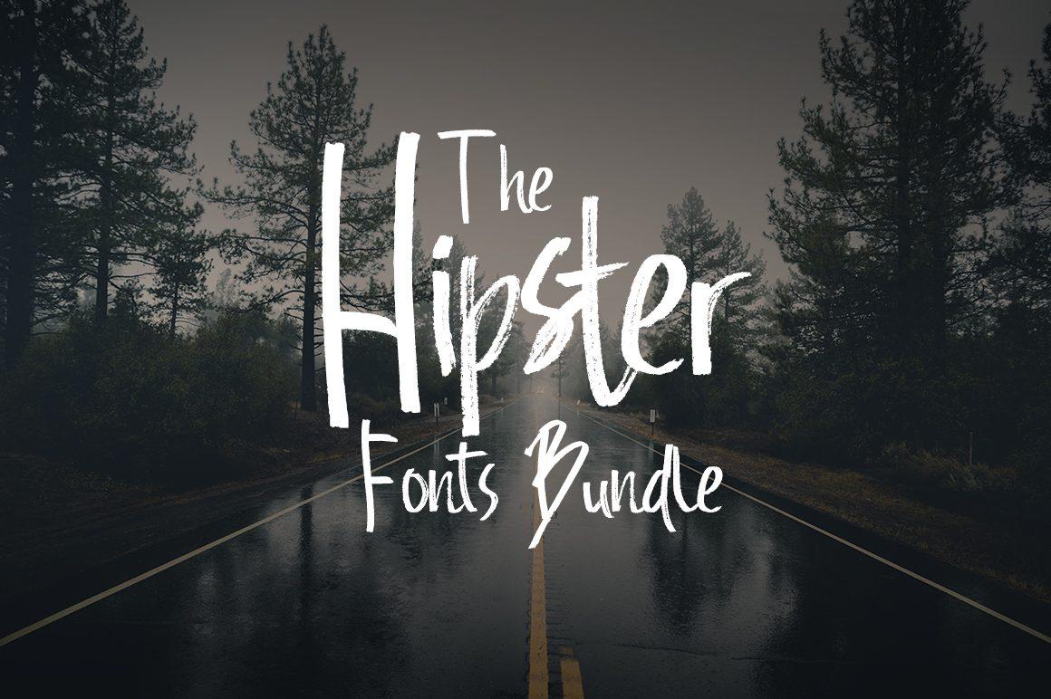 The Hipster Fonts Bundle