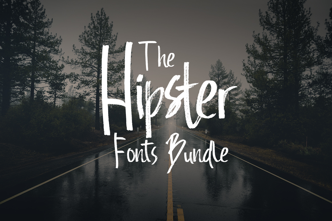 The Hipster Fonts Bundle