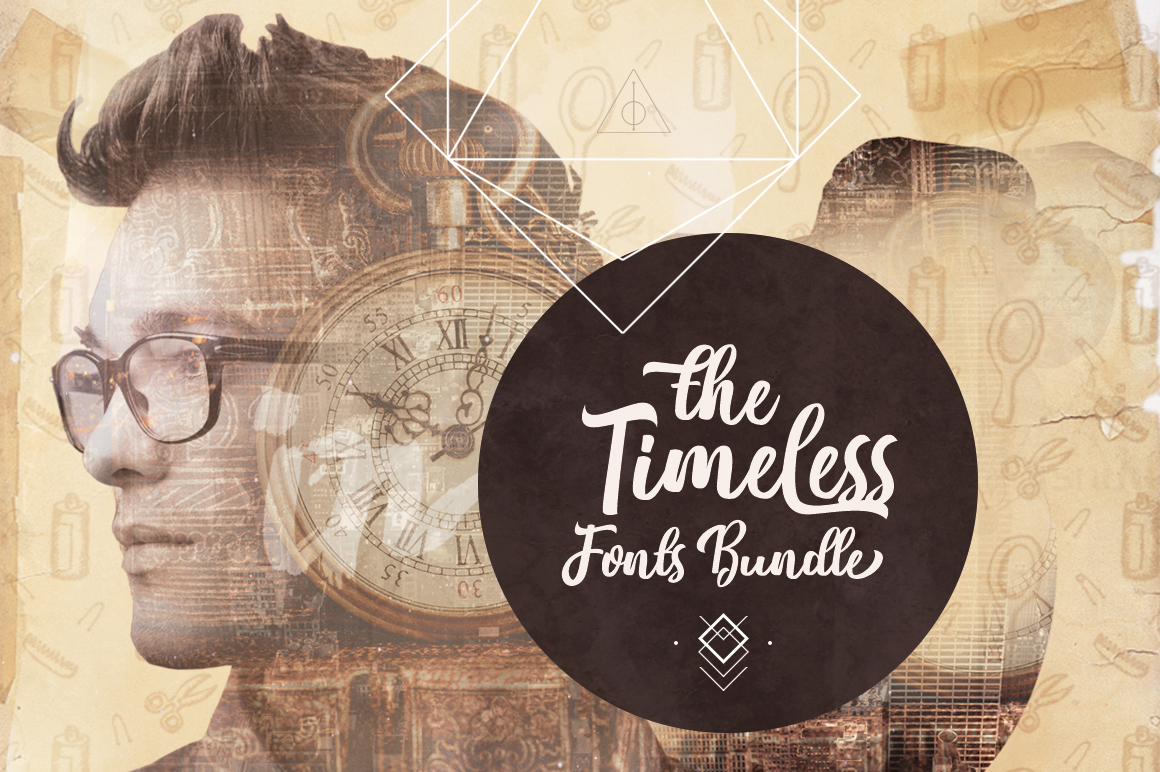 b6d0047405 Timeless Fonts Bundle  68 High-Quality Fonts  99% Off