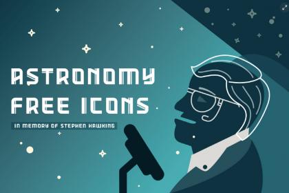 Astronomy Free Icons