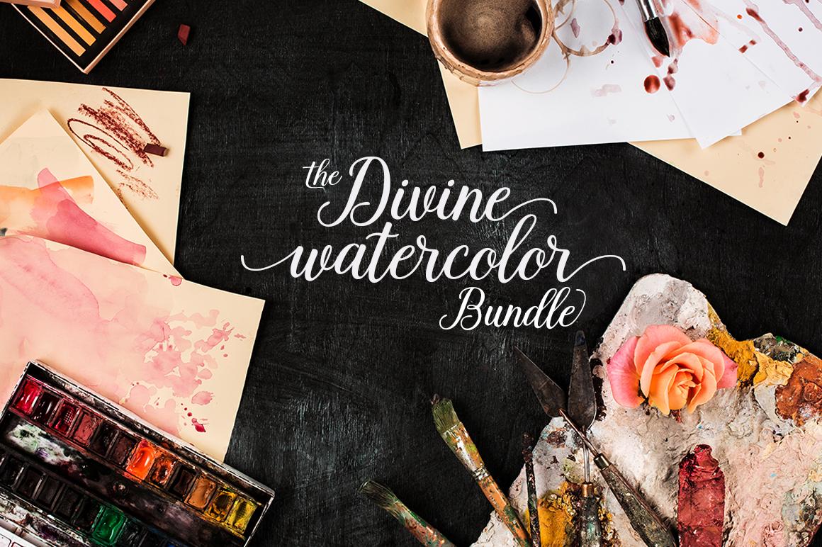 The Divine Watercolor Bundle