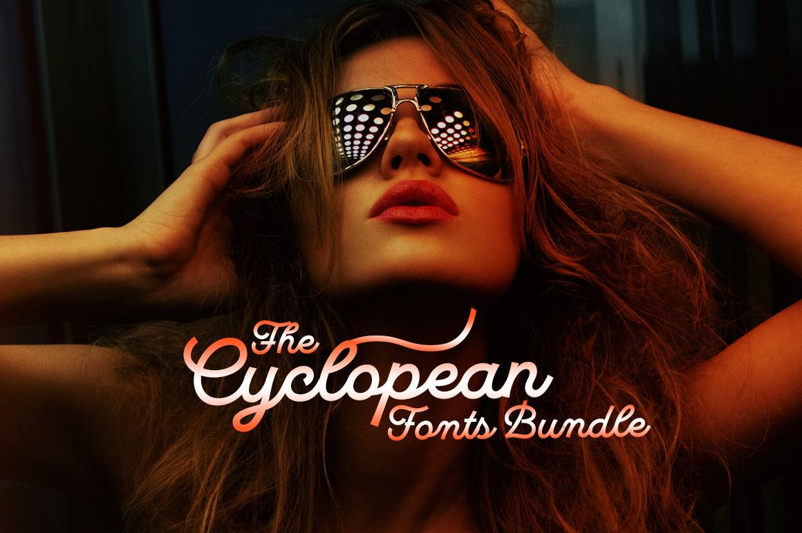The Cyclopean Fonts Bundle