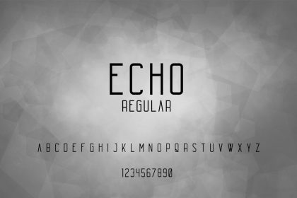 Free Echo Font