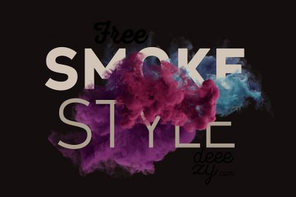 Free Smoke Scene Mockup