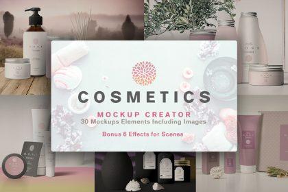 cosmetics mockups