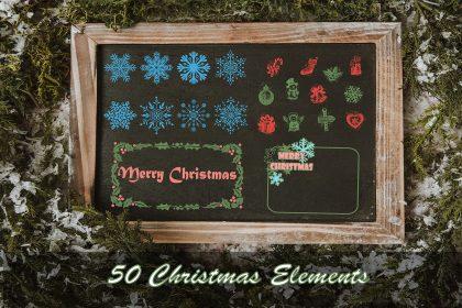 Free Christmas Elements