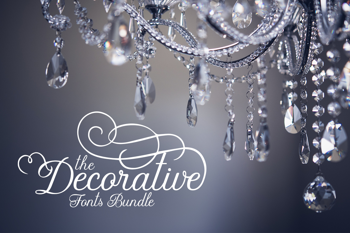 The Decorative Fonts Bundle