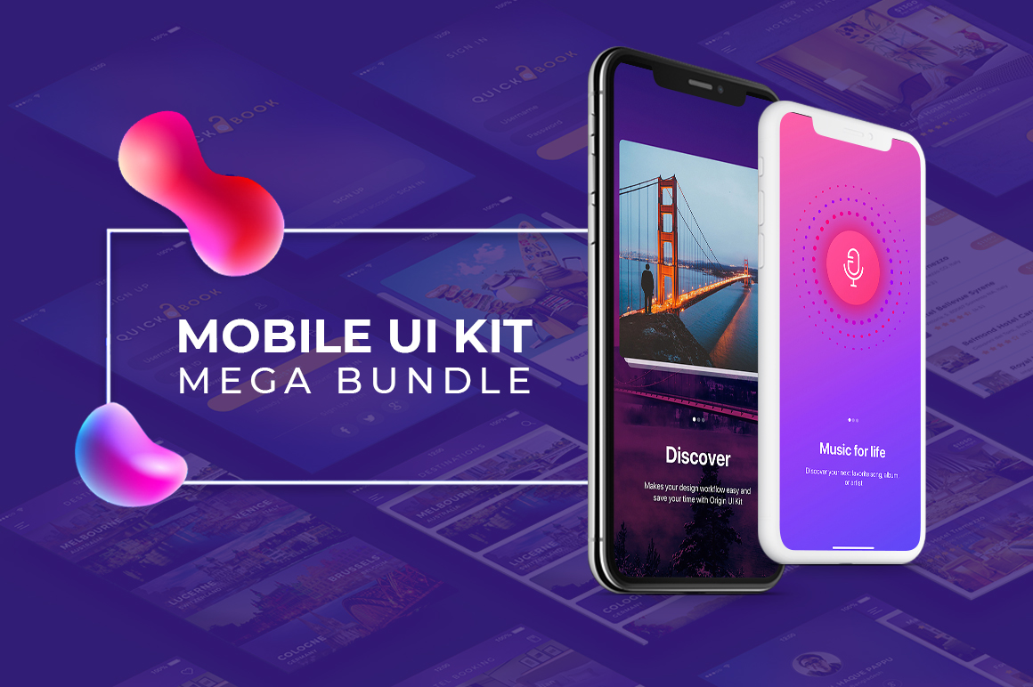 Mobile app ui templates
