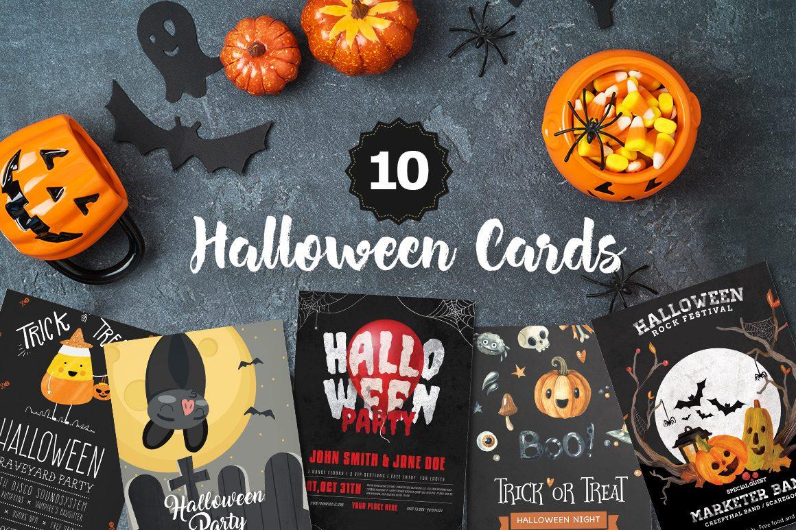 free Halloween cards