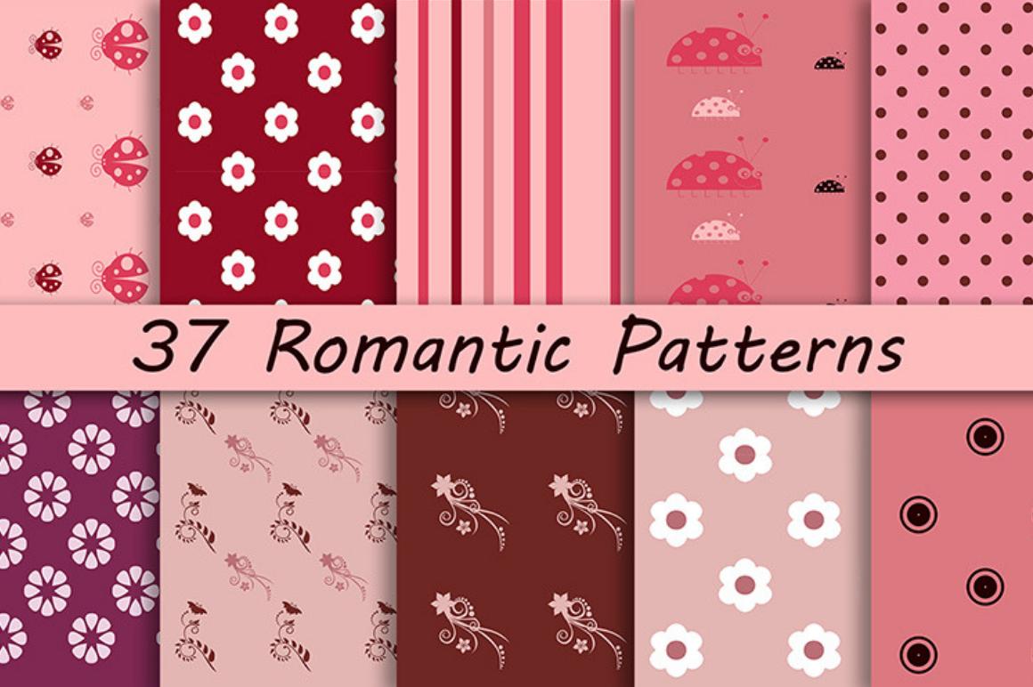 Free Romantic Patterns