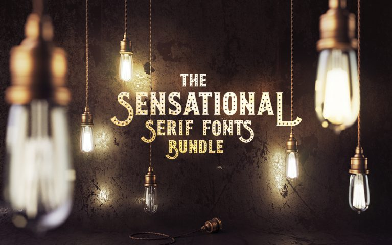 Sensational Serif Fonts Bundle