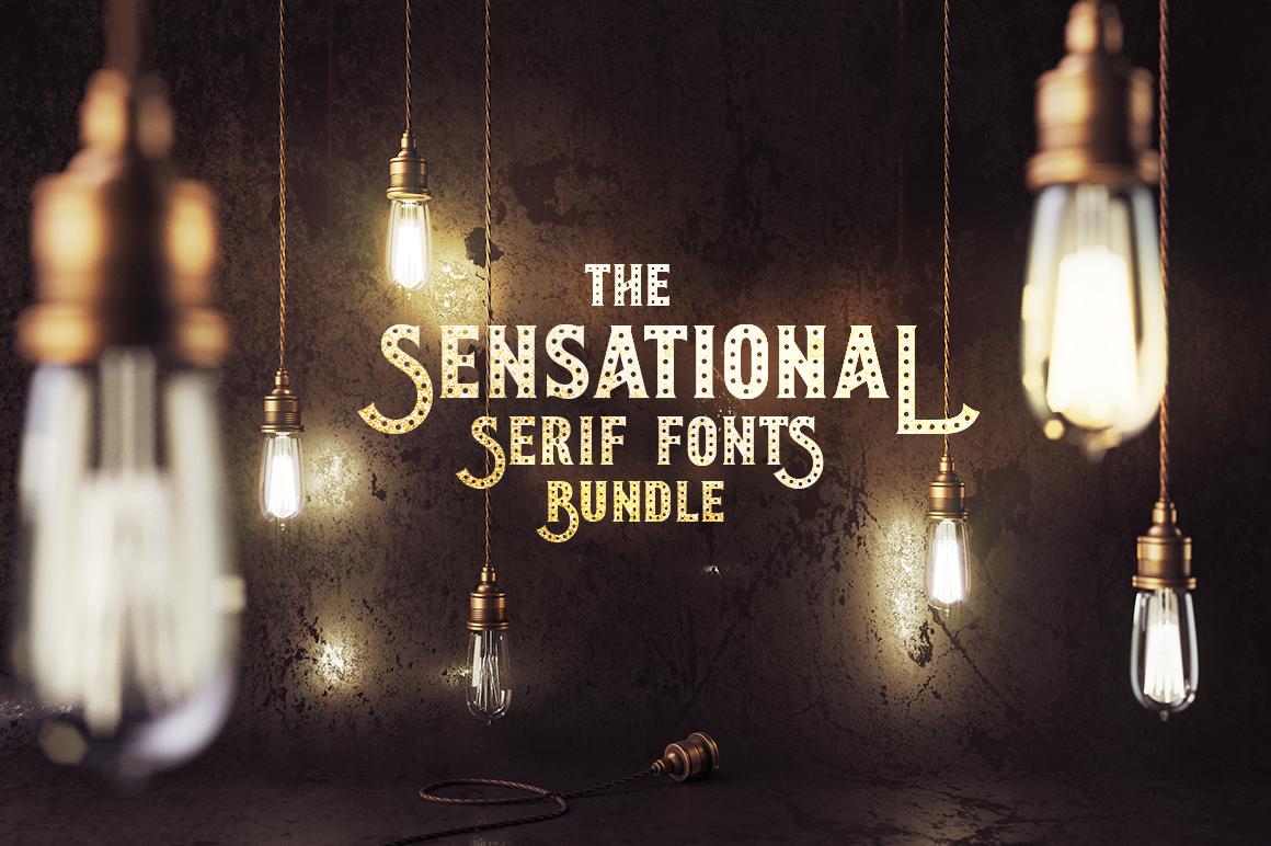 Sensational Serif Fonts Bundle