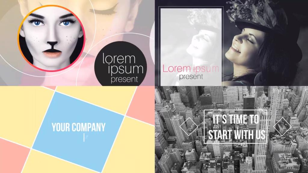 Graphic Designing - Video Presentation Templates