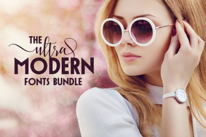 The Ultra-Modern Fonts Bundle