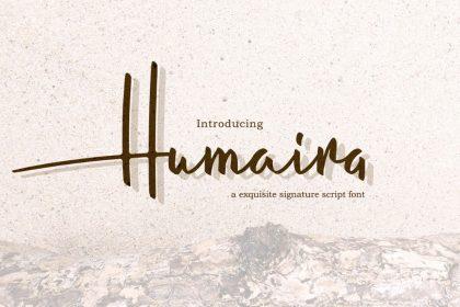 Humaira Free Font