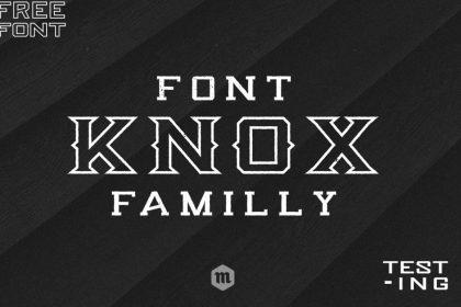 Knox Free Font