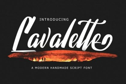 Lavalette Free Font
