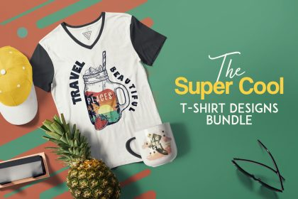 Cool T-Shirt Designs Bundle