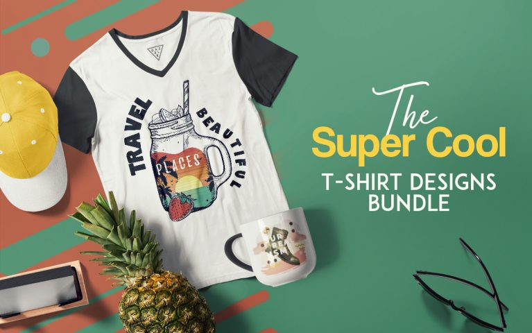Cool T-Shirt Designs Bundle
