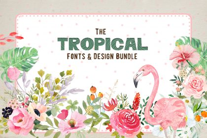 tropical fonts
