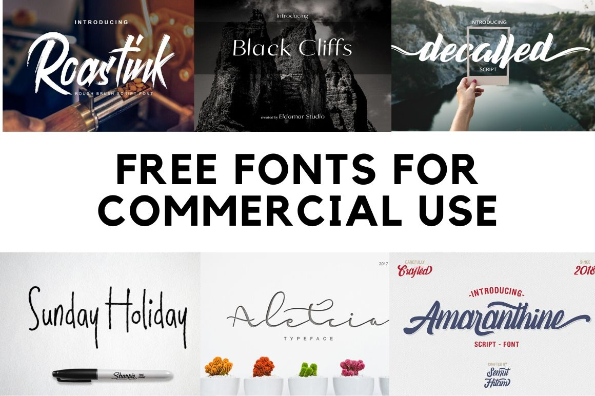 40 Free Fonts For Commercial Use