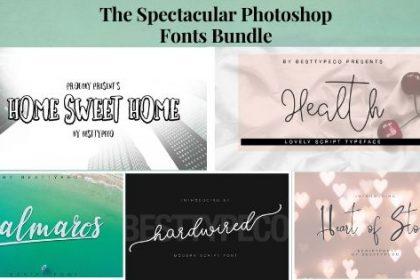 photoshop fonts