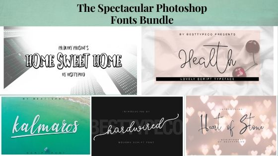 photoshop fonts