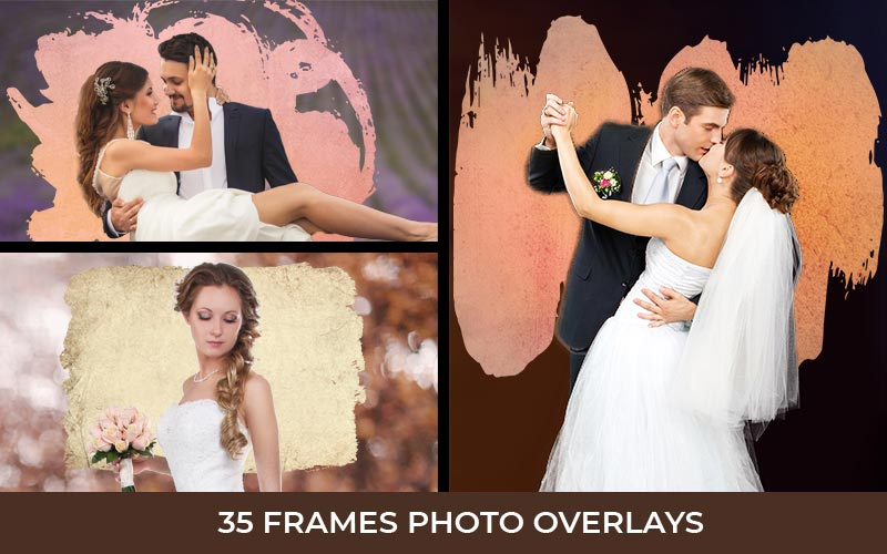wedding overlays