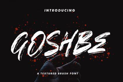 streetbrush font