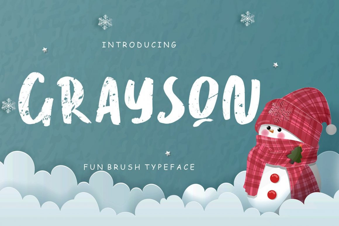 Brush Typeface
