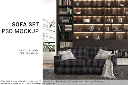 sofa mockup