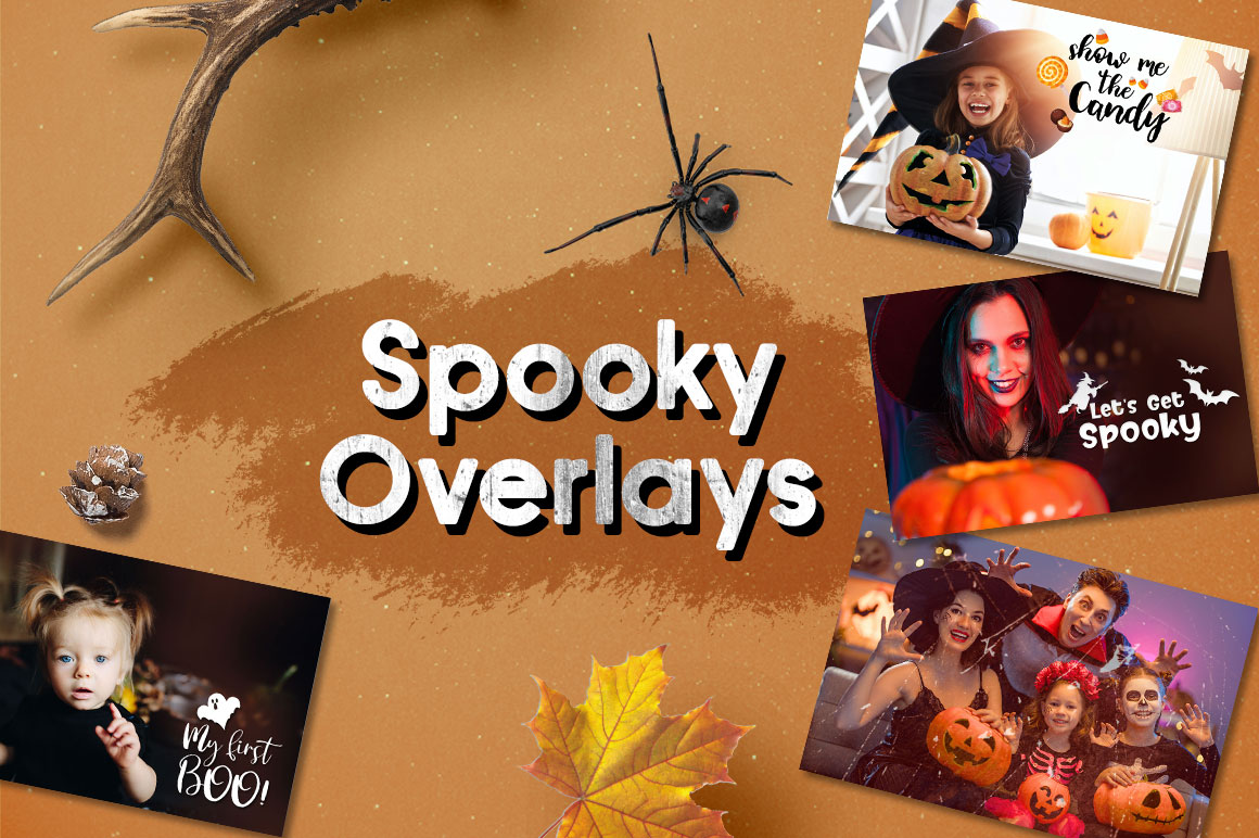 spooky overlays
