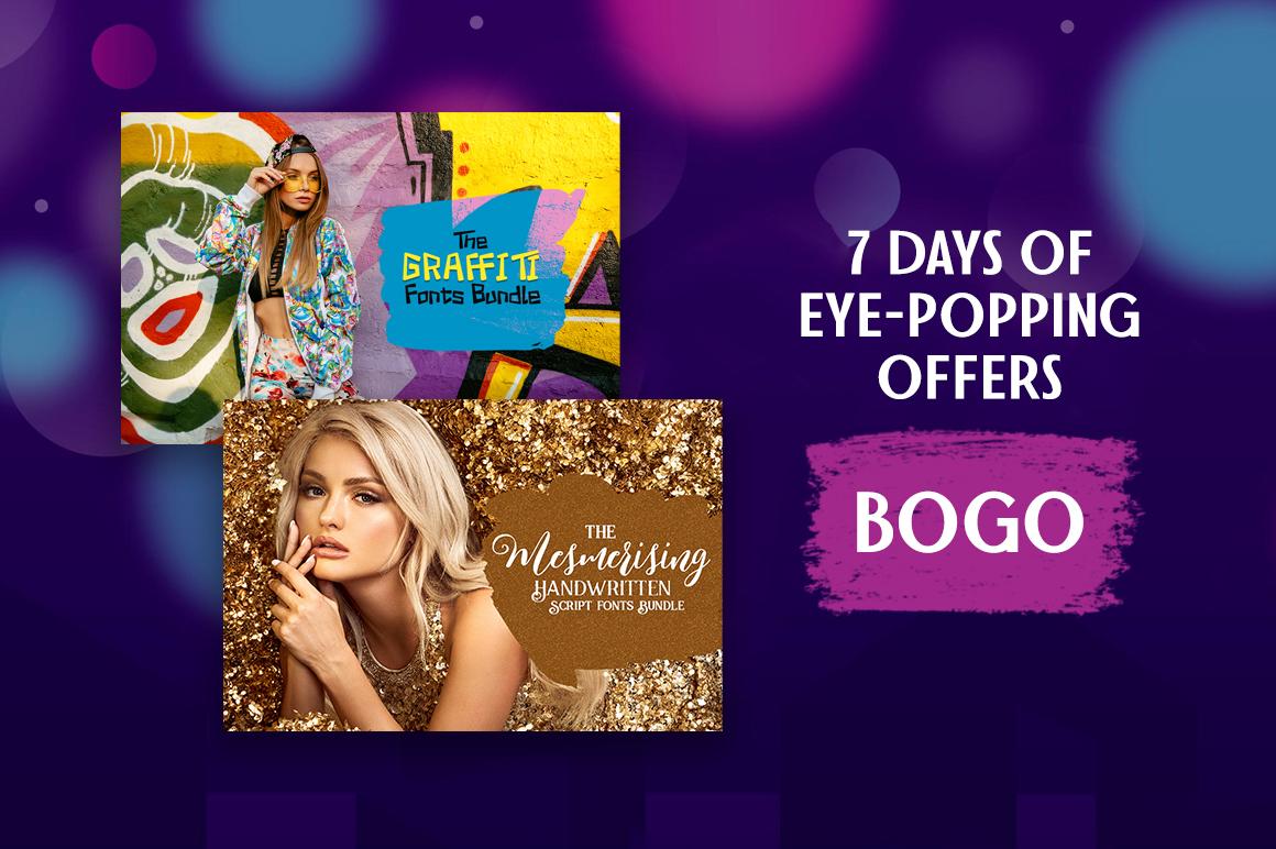 eye popping bogo offer