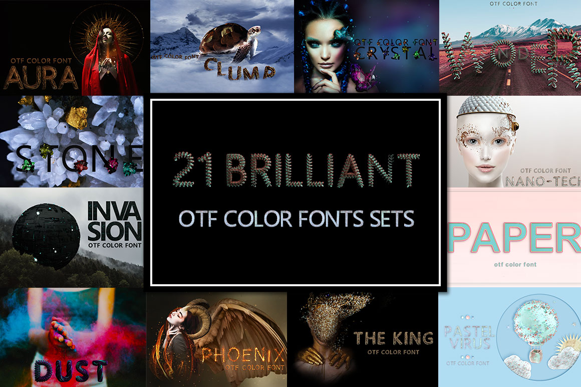 OTF color fonts