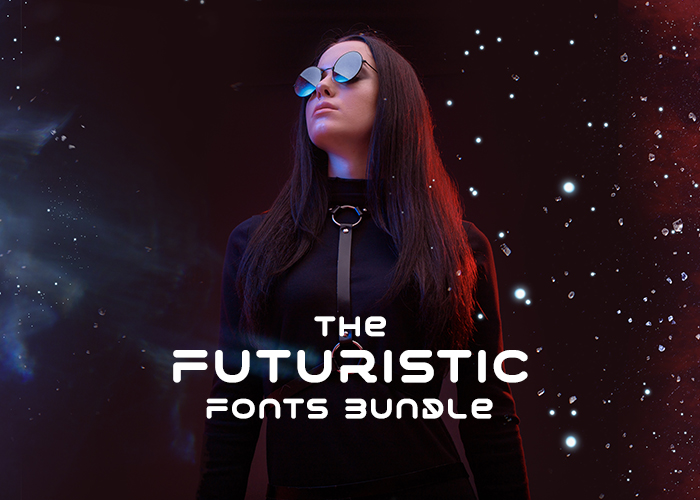 Futuristic Fonts Bundle